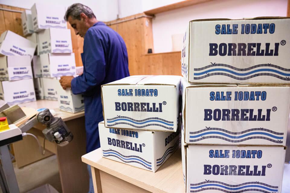 Azienda Borrelli - distribuzione del sale