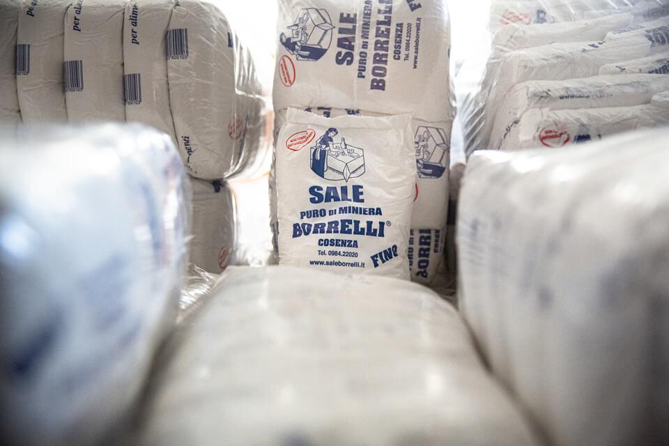 Azienda Borrelli - confezioni di sale puro di miniera