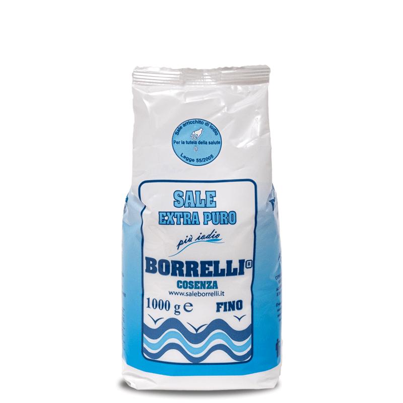 Borrelli - Sale iodato 1 kg