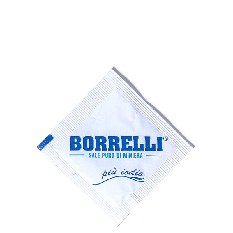 Borrelli - Sale in bustine monodose
